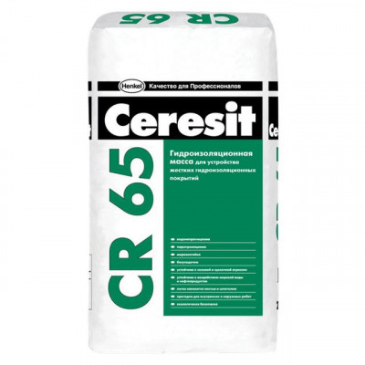 Церезит СР 65/20кг.жесткая гидроизол.масса