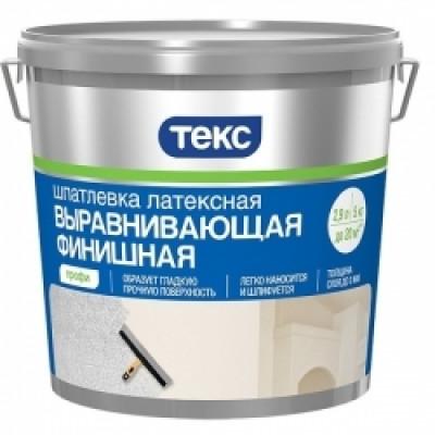 Шпатлевка финишная латексная ТЕКС Профи 1,5кг