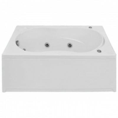 Ванна BAS KAMERON  ГММ 120*70 с панелью слив+перел