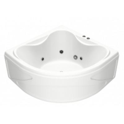 Ванна RIOLA ГММ 135*135 панель+слив/перелив+8аэро